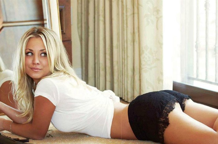 Kaley Cuoco Sex Tape