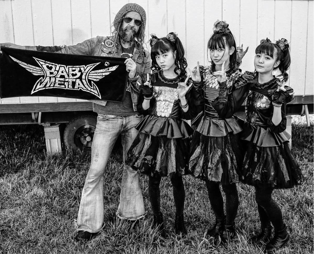 baby metl and rob zombie